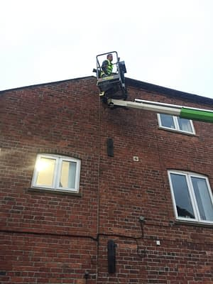 cherry picker cleaning in Rutland